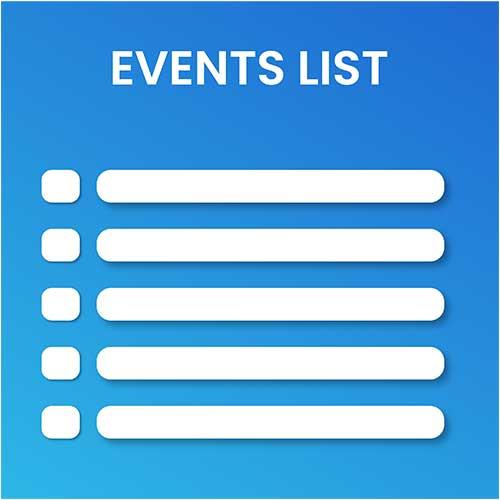 eventslist